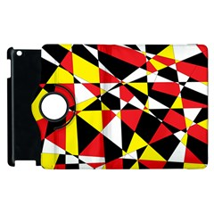 Shattered Life With Rays Of Hope Apple Ipad 2 Flip 360 Case
