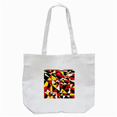 Shattered Life With Rays Of Hope Tote Bag (White)