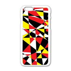 Shattered Life With Rays Of Hope Apple iPhone 6 White Enamel Case