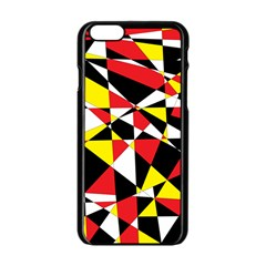 Shattered Life With Rays Of Hope Apple iPhone 6 Black Enamel Case