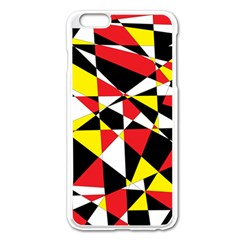 Shattered Life With Rays Of Hope Apple iPhone 6 Plus Enamel White Case