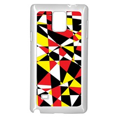 Shattered Life With Rays Of Hope Samsung Galaxy Note 4 Case (white)