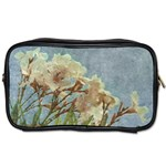 Floral Grunge Vintage Photo Travel Toiletry Bag (Two Sides) Front