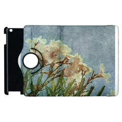 Floral Grunge Vintage Photo Apple iPad 2 Flip 360 Case