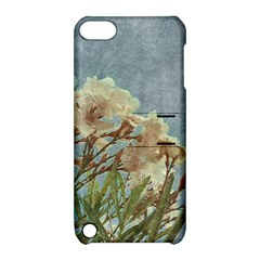 Floral Grunge Vintage Photo Apple Ipod Touch 5 Hardshell Case With Stand