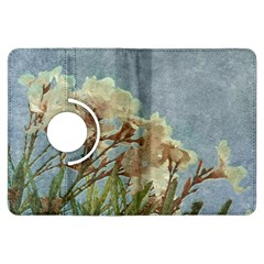 Floral Grunge Vintage Photo Kindle Fire Hdx Flip 360 Case
