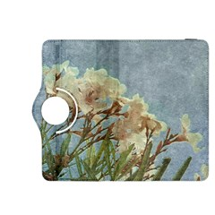 Floral Grunge Vintage Photo Kindle Fire HDX 8.9  Flip 360 Case