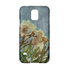 Floral Grunge Vintage Photo Samsung Galaxy S5 Hardshell Case