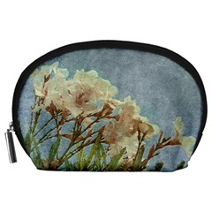 Floral Grunge Vintage Photo Accessory Pouch (large)