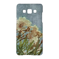 Floral Grunge Vintage Photo Samsung Galaxy A5 Hardshell Case