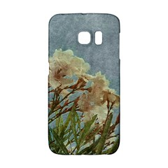 Floral Grunge Vintage Photo Samsung Galaxy S6 Edge Hardshell Case