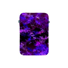 Purple Skulls Goth Storm Apple Ipad Mini Protective Sleeve