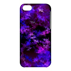 Purple Skulls Goth Storm Apple Iphone 5c Hardshell Case