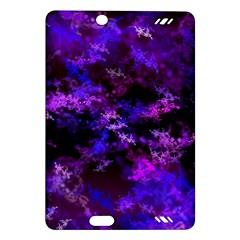 Purple Skulls Goth Storm Kindle Fire HD (2013) Hardshell Case