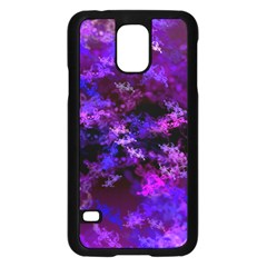 Purple Skulls Goth Storm Samsung Galaxy S5 Case (Black)