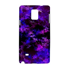 Purple Skulls Goth Storm Samsung Galaxy Note 4 Hardshell Case