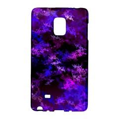 Purple Skulls Goth Storm Samsung Galaxy Note Edge Hardshell Case