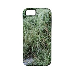 Rustic Grass Pattern Apple Iphone 5 Classic Hardshell Case (pc+silicone)