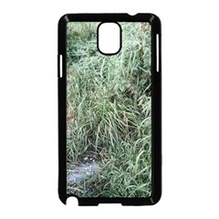 Rustic Grass Pattern Samsung Galaxy Note 3 Neo Hardshell Case (Black)