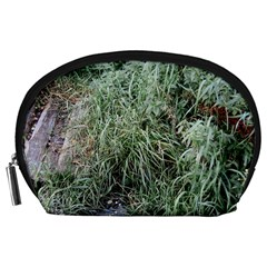 Rustic Grass Pattern Accessory Pouch (large)