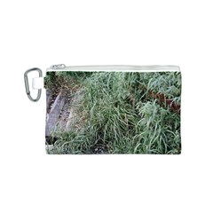 Rustic Grass Pattern Canvas Cosmetic Bag (Small)