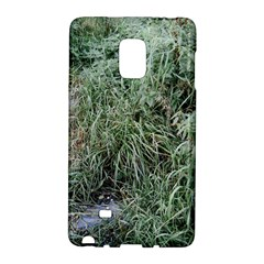 Rustic Grass Pattern Samsung Galaxy Note Edge Hardshell Case