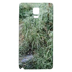 Rustic Grass Pattern Samsung Note 4 Hardshell Back Case