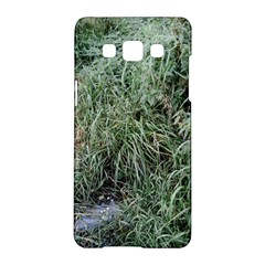 Rustic Grass Pattern Samsung Galaxy A5 Hardshell Case