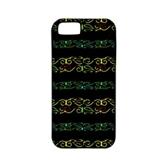 Modern Lace Stripe Pattern Apple Iphone 5 Classic Hardshell Case (pc+silicone)