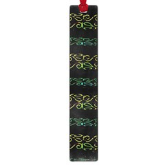 Modern Lace Stripe Pattern Large Bookmark