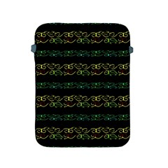 Modern Lace Stripe Pattern Apple Ipad Protective Sleeve