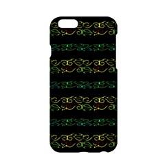 Modern Lace Stripe Pattern Apple iPhone 6 Hardshell Case