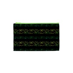Modern Lace Stripe Pattern Cosmetic Bag (XS)