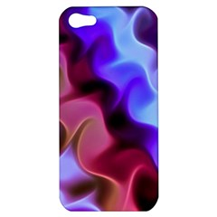 Rippling Satin Apple Iphone 5 Hardshell Case