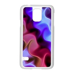Rippling Satin Samsung Galaxy S5 Case (White)