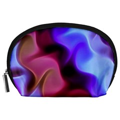 Rippling Satin Accessory Pouch (large)