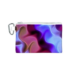 Rippling Satin Canvas Cosmetic Bag (small)