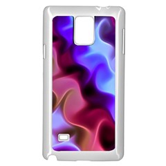 Rippling Satin Samsung Galaxy Note 4 Case (White)