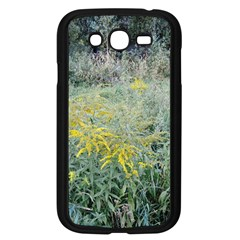 Yellow Flowers, Green Grass Nature Pattern Samsung Galaxy Grand Duos I9082 Case (black)