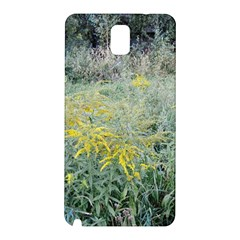 Yellow Flowers, Green Grass Nature Pattern Samsung Galaxy Note 3 N9005 Hardshell Back Case