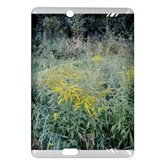 Yellow Flowers, Green Grass Nature Pattern Kindle Fire HD (2013) Hardshell Case