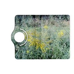 Yellow Flowers, Green Grass Nature Pattern Kindle Fire Hd (2013) Flip 360 Case