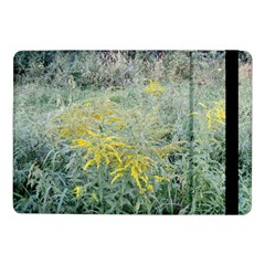 Yellow Flowers, Green Grass Nature Pattern Samsung Galaxy Tab Pro 10 1  Flip Case