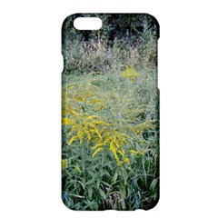 Yellow Flowers, Green Grass Nature Pattern Apple iPhone 6 Plus Hardshell Case