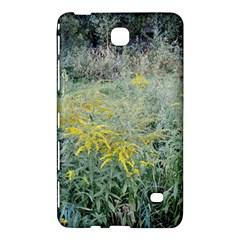 Yellow Flowers, Green Grass Nature Pattern Samsung Galaxy Tab 4 (7 ) Hardshell Case