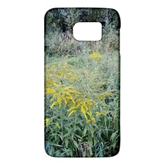 Yellow Flowers, Green Grass Nature Pattern Samsung Galaxy S6 Hardshell Case