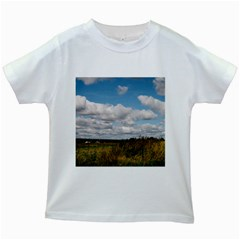 Rural Landscape Kids T-shirt (White)