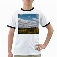 Rural Landscape Men s Ringer T-shirt