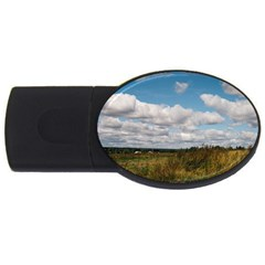 Rural Landscape 4gb Usb Flash Drive (oval)