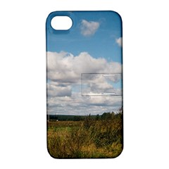 Rural Landscape Apple Iphone 4/4s Hardshell Case With Stand